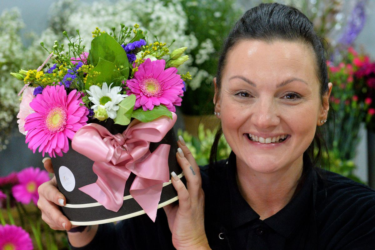 Leanne has been running her own shop in Wednesbury for 18 months