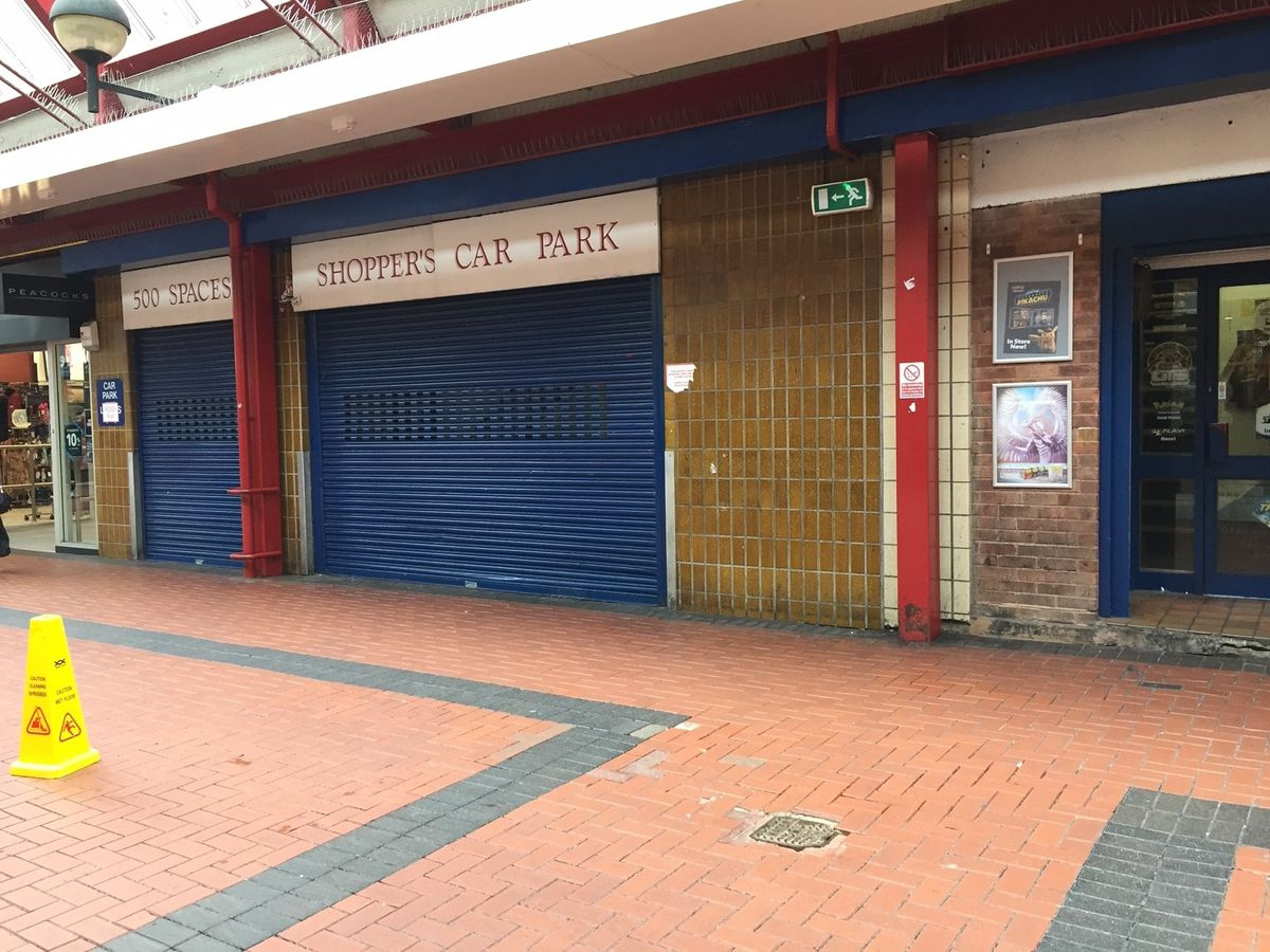 Shutters across the town will be given an artistic makeover