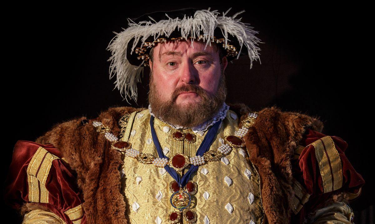 John S White as Henry VIII