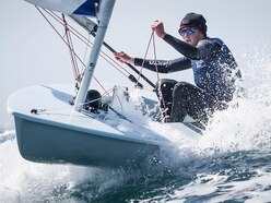 Winds a real test for Ali Young