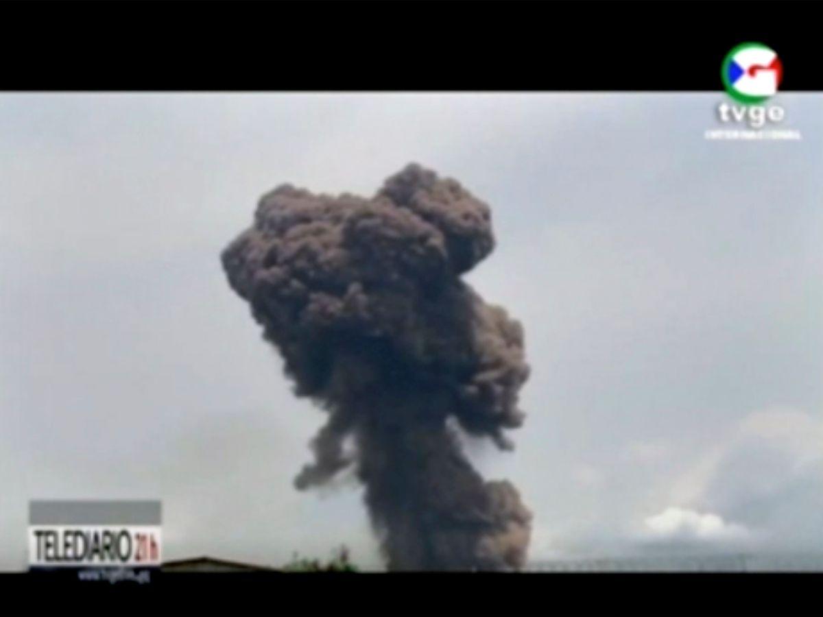 Equatorial Guinea-Explosions
