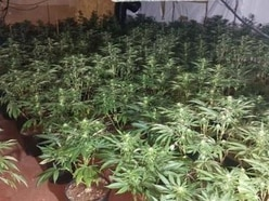 Huge £1m cannabis factory discovered during major police raid in Smethwick