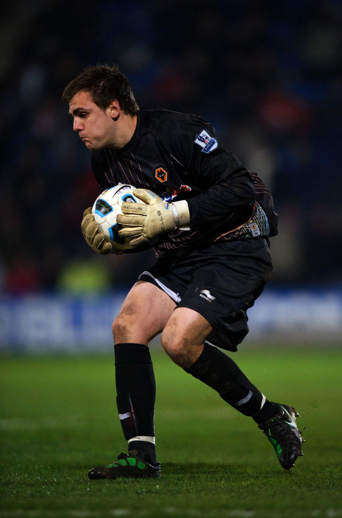 Daniel East of Wolverhampton Wanderers