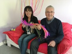 Ex-Goodyear workers hand £21k to Acorns children's hospice