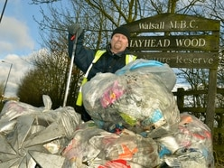 Litter crusader on one-man mission to keep Walsall village tidy