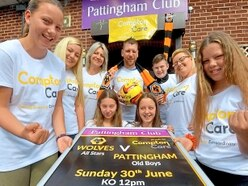 Ex-Wolves stars ready for charity kick-off