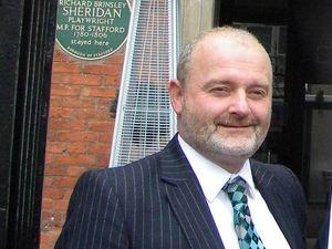 Stafford Borough Council Leader Patrick Farrington.