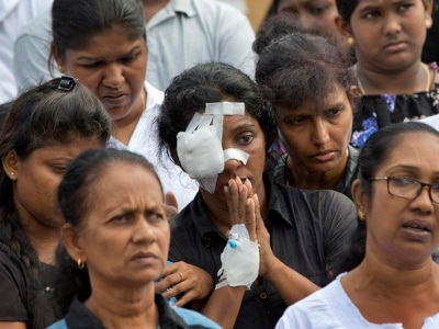 Woman left childless and a widow after blast at Sri Lanka church