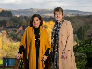 Julia Simonds and Debbie Fellows of BE Worcestershire
