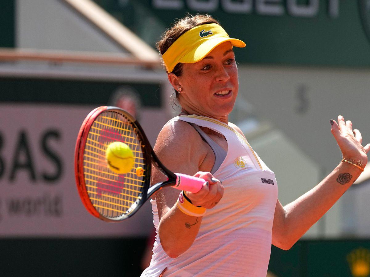 Anastasia Pavlyuchenkova powered her way into the French Open final