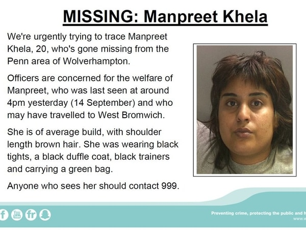 Concerns for missing woman from Wolverhampton