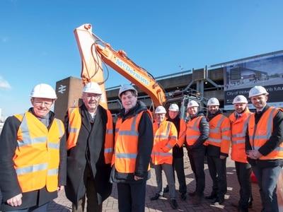Wolverhampton railway station work on-track as builders start