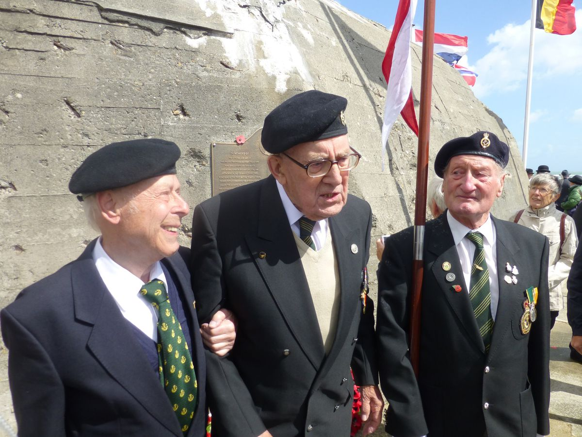 Both Mr Stevenson and Mr Koenig visit Normandy annually for the anniversary of the D-Day landings