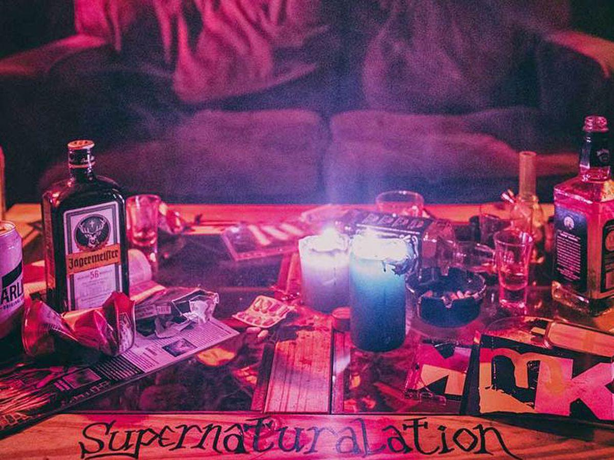 The artwork for Molly Karloff's Supernaturalation