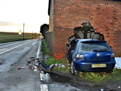 Work begins at car smash blackspot - with video