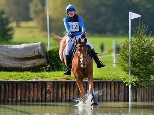 Jennie Housley on Caunton Rubi Royale at the Weston Park Horse Trials