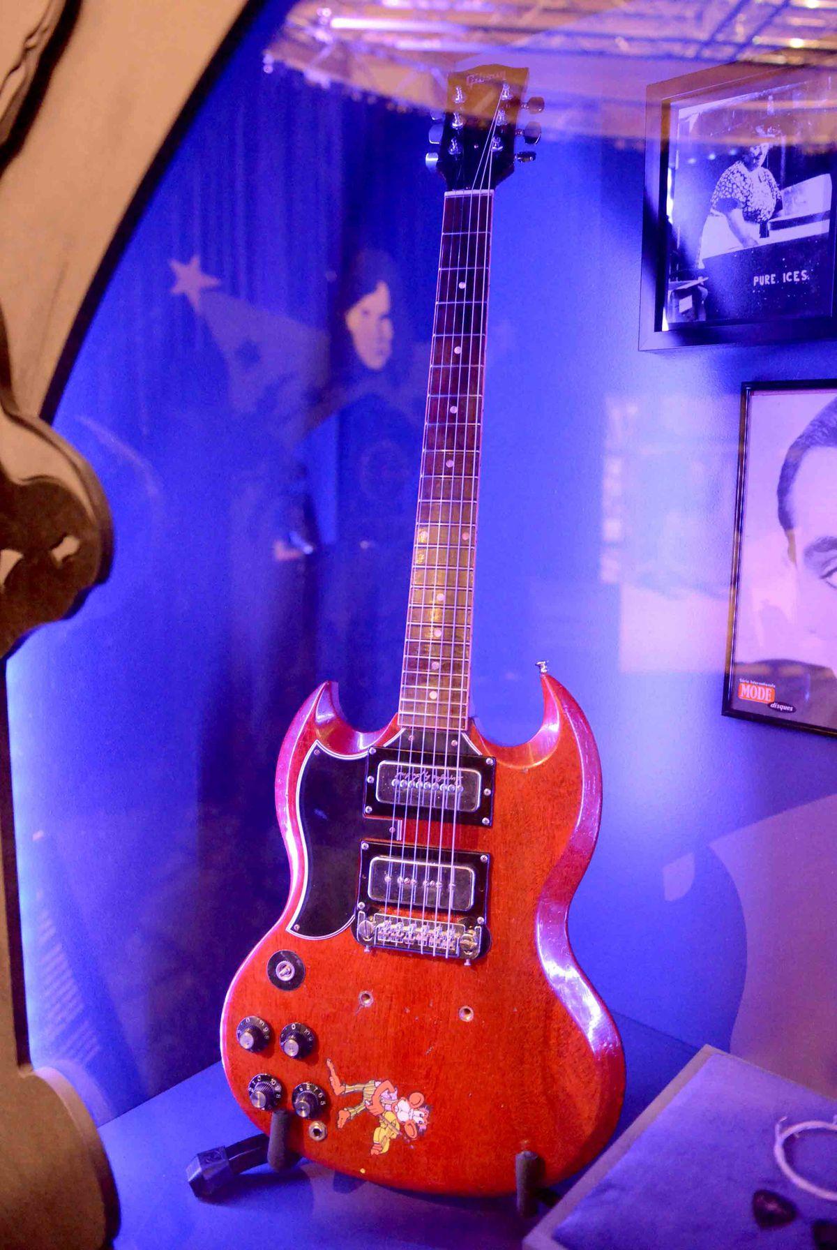 Tony Iommi's guitar