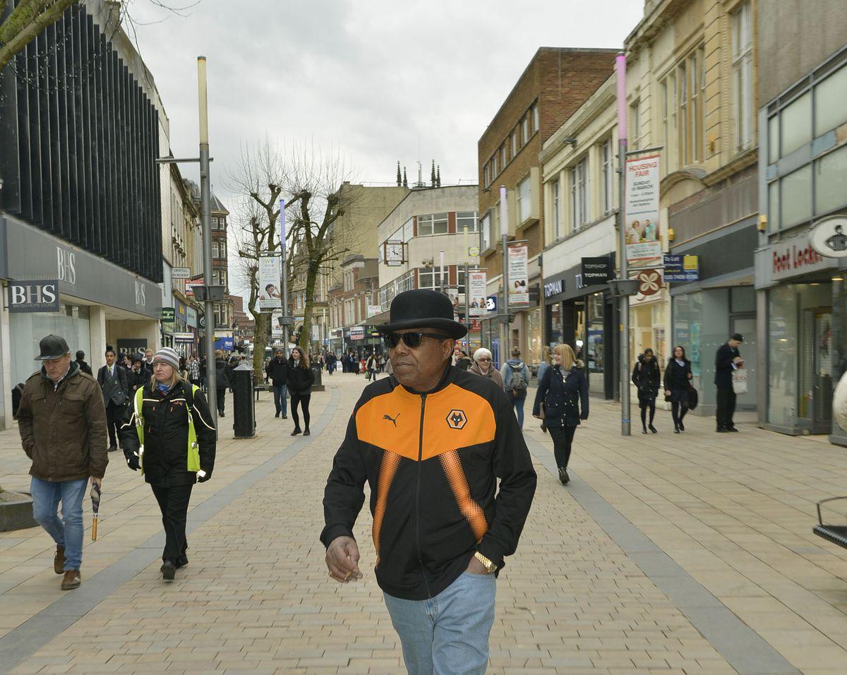 Taking a stroll along Dudley Street