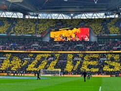 Watford 3 Wolves 2: GALLERY as fans go from elation to despair at Wembley