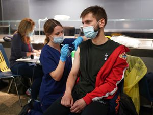 There are calls for more people to be vaccinated. Photo: Yui Mok/PA Wire