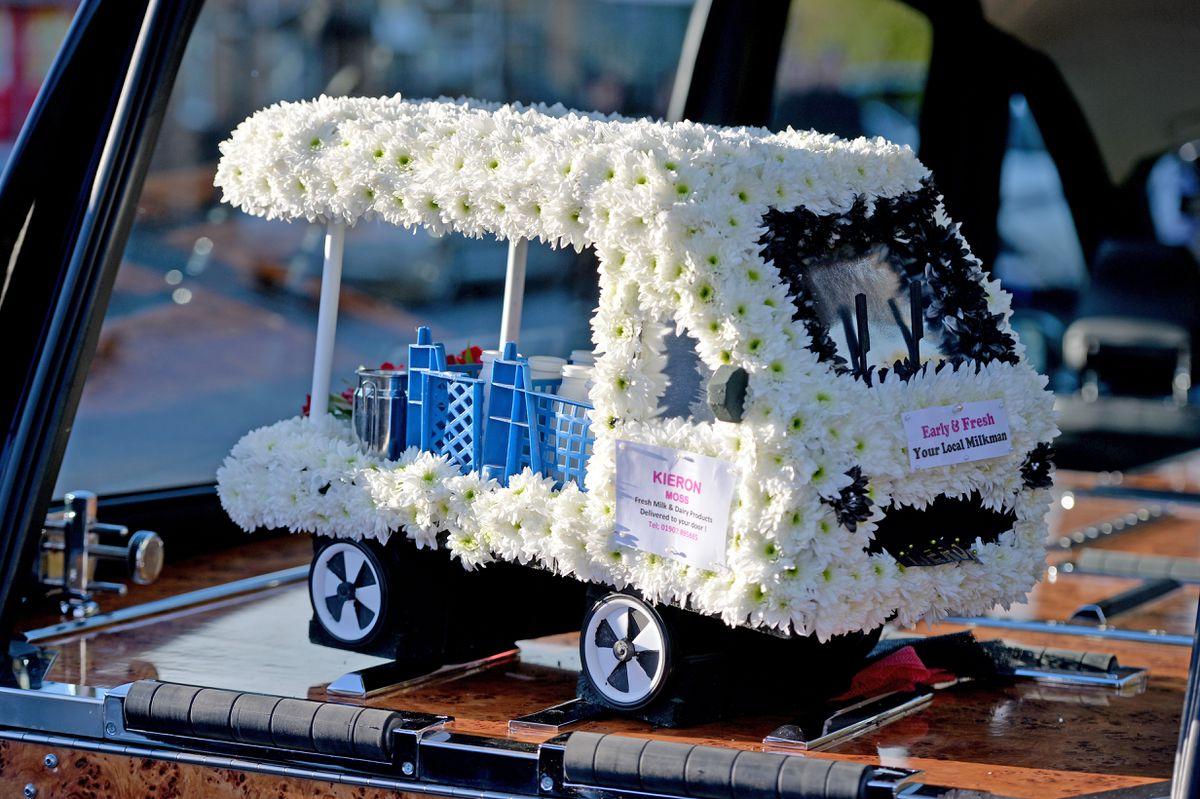 A floral tribute to Kieron