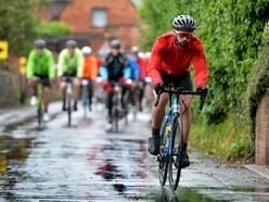Cyclists brave weather to take on Brewood Cycle Challenge for scouts - with pictures