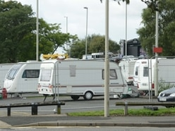 Travellers leave Dudley car park after three-week stay
