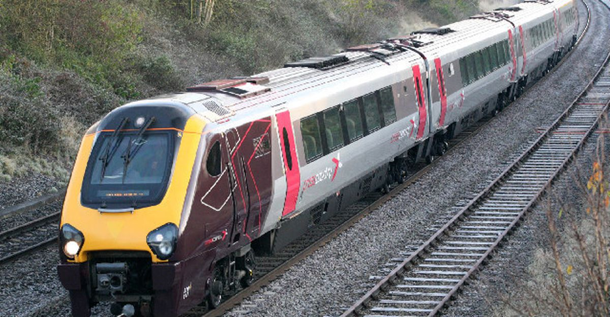A Cross Country train