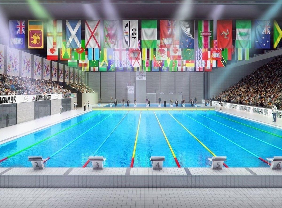 How the aquatics centre will look