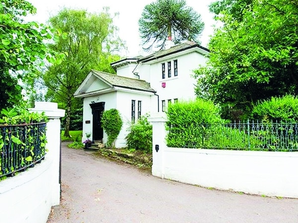 Grade-II listed Victorian lodge near Wordsley for sale at £125k