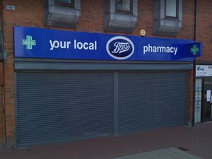 The former Boots store in Darlaston town centre. Photo: Google