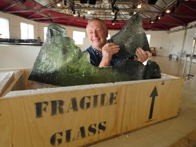 Glass creations to take centre stage at festival