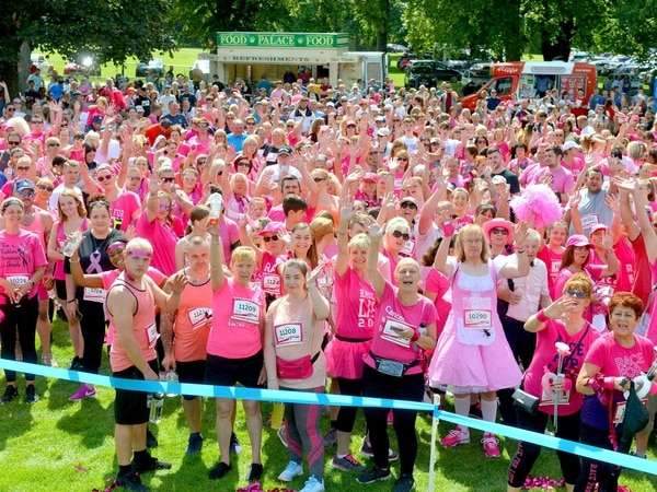 GALLERY: Runners in the pink at Himley's Race for Life