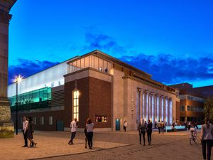 An artist's interpretation of what Wolverhampton's Civic Hall will look like. Photo: Wolverhampton Council
