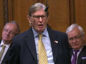 Sir Bill Cash speaking in the House of Commons