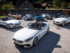 From 327 to Z4 – driving BMW's historical roadsters