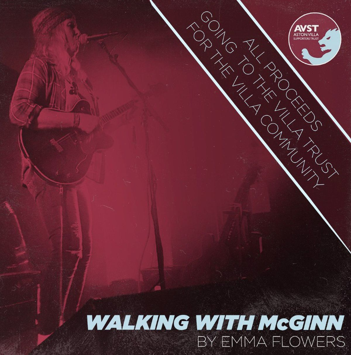 Walking with McGinn is priced at £1.50