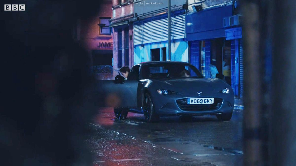 The Mazda in episode six, series six, of Line of Duty