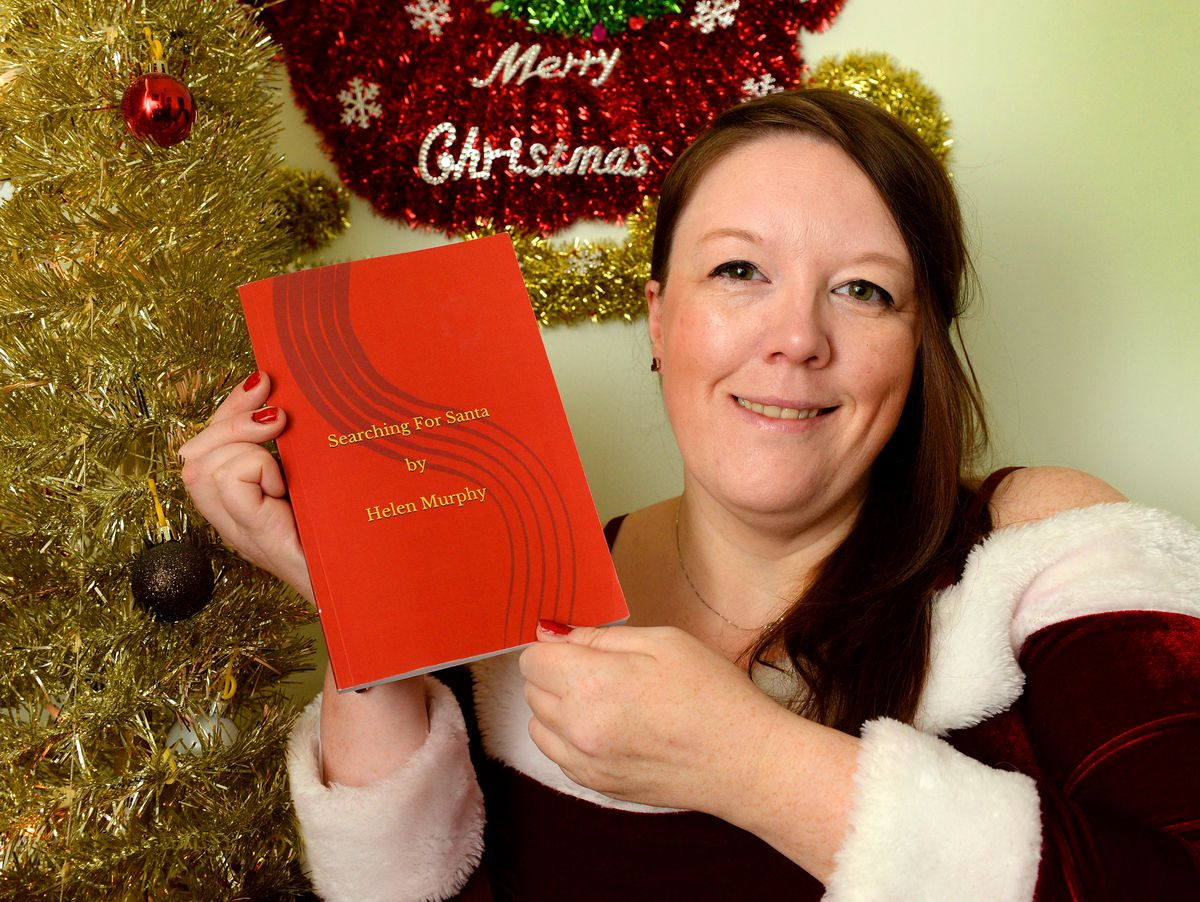 """Helen Murphy has released a new book called """"Searching for Santa"""""""