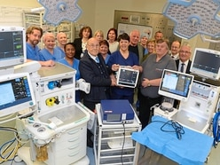 Goodyear staff's £307k gift of life to New Cross Hospital