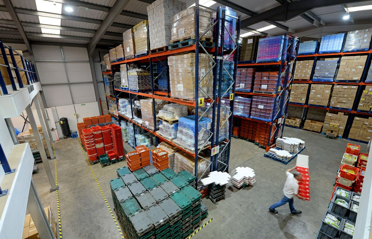 Boxes and boxes of sweets destined for charities around the country