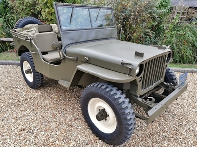 Steve McQueen's Willys Jeep heads to auction