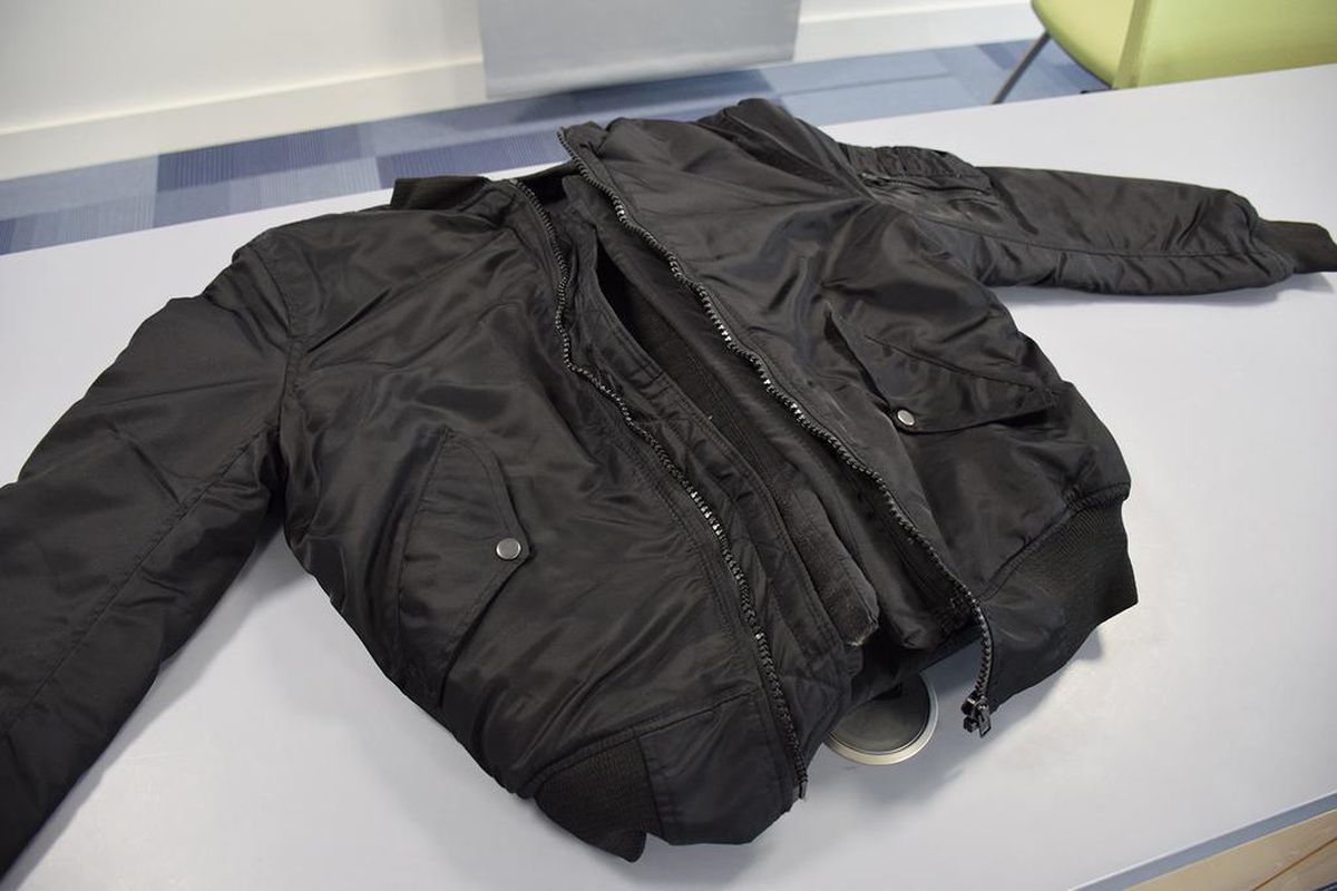 Uddin even owned a designer bomber jacket with a bulletproof vest sown in