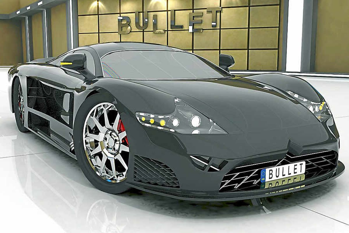 Bullet supercar is an engineering showcase