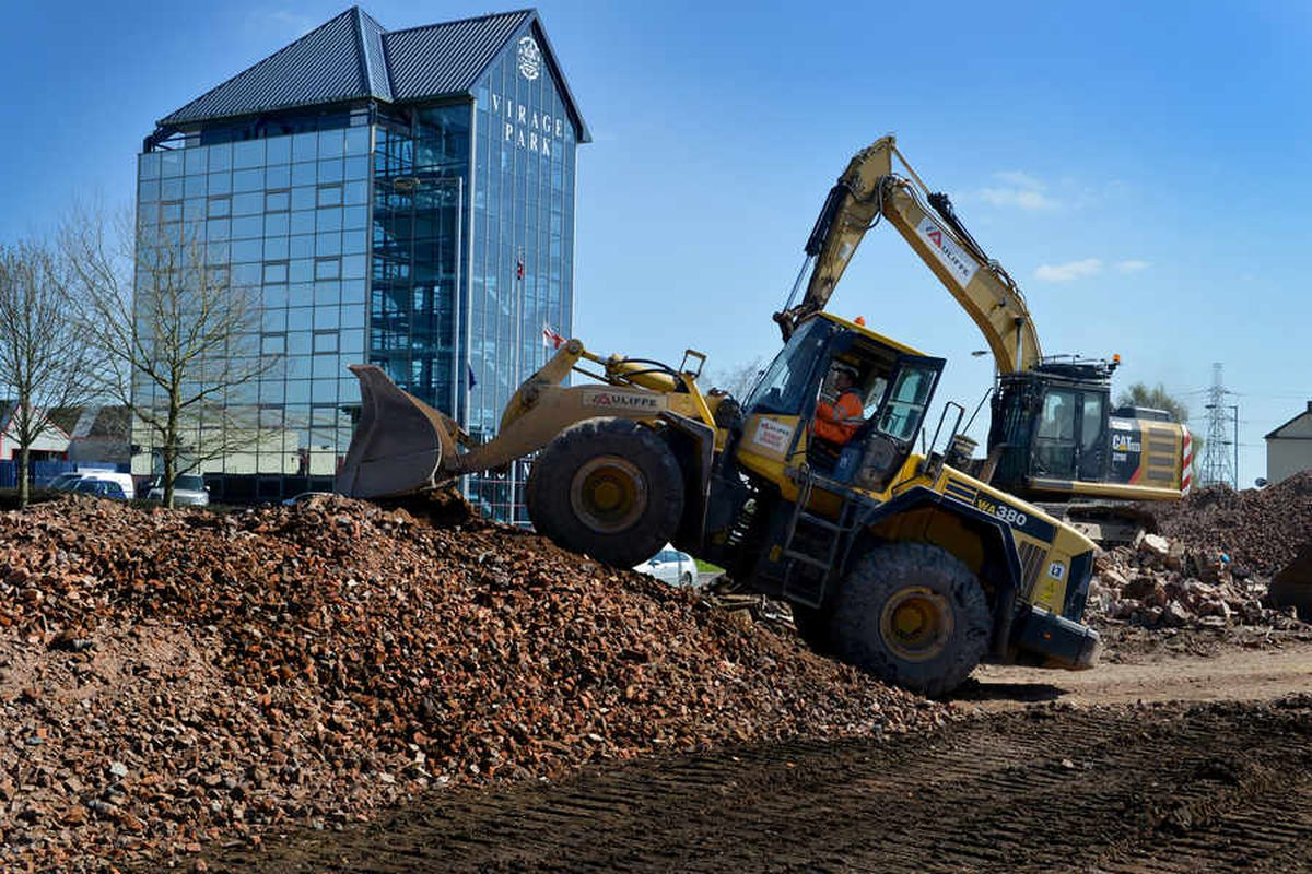 All change as historic Bridgtown works bulldozed