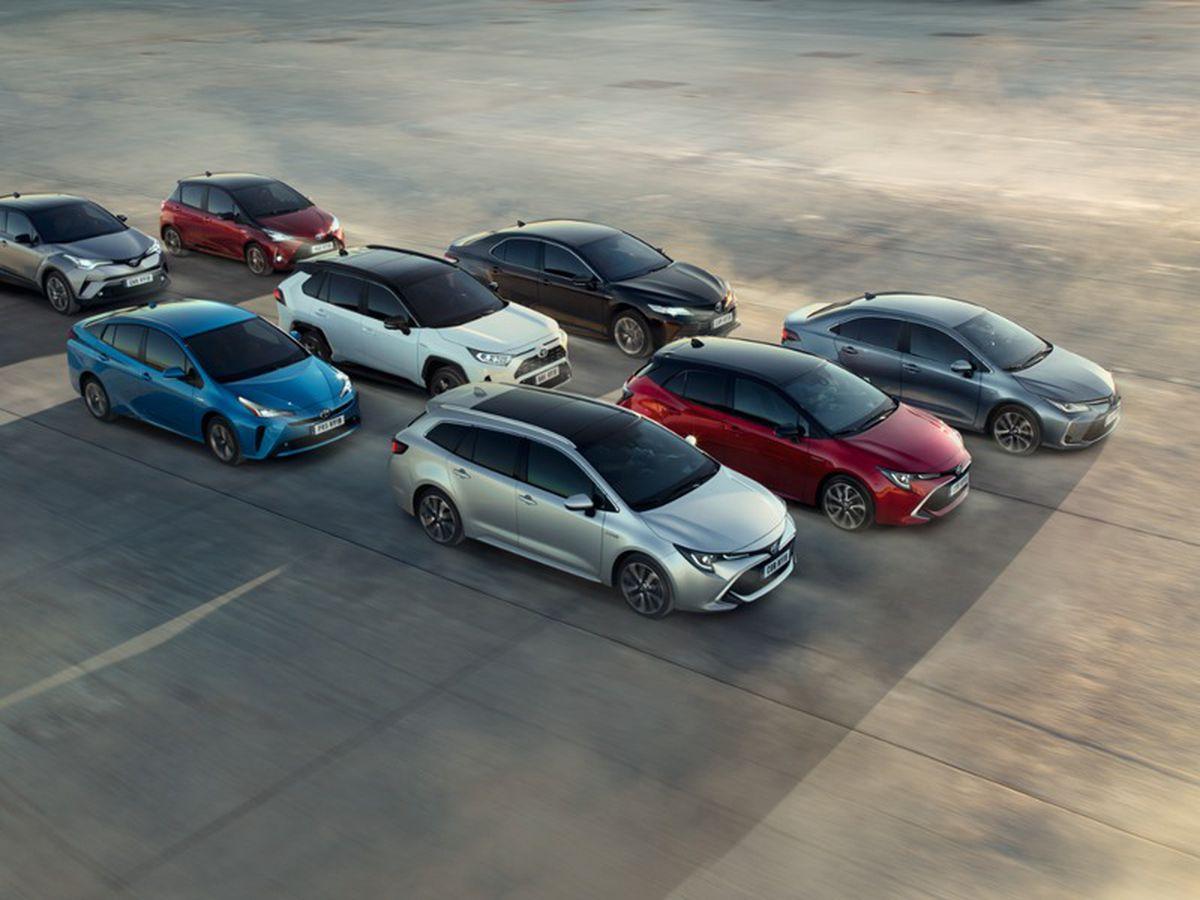 Toyota's range of hybrid vehicles