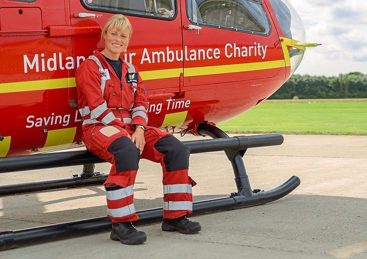 Karen Baker, critical care paramedic and airbase supervisor, said the service is more in demand than ever as its income falls