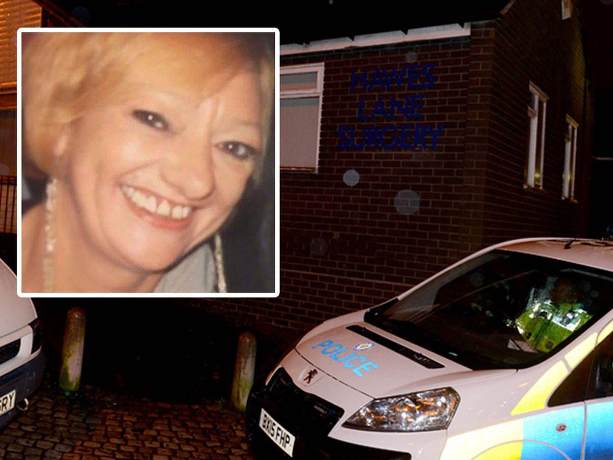 Ronald Cooke took Tina Billingham, inset, to Hawes Lane Surgery