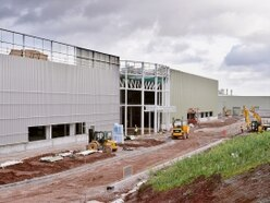 New JCB factory project forges ahead