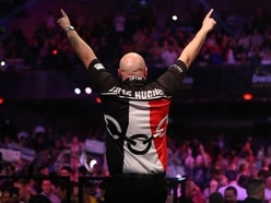 Grand Slam of Darts gets going with big names winning - PICTURES